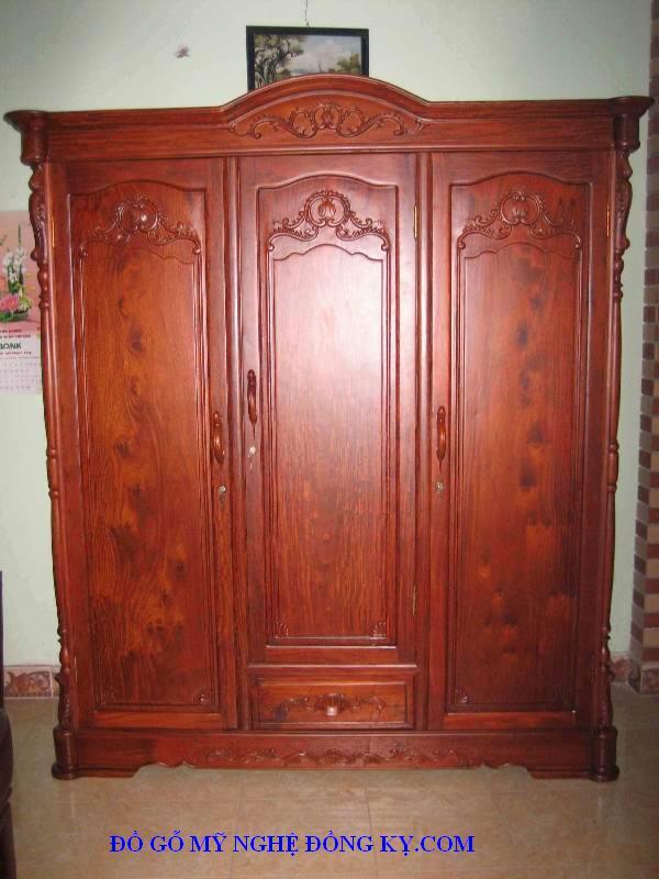 Tư quần áo gỗ đồng kỵ