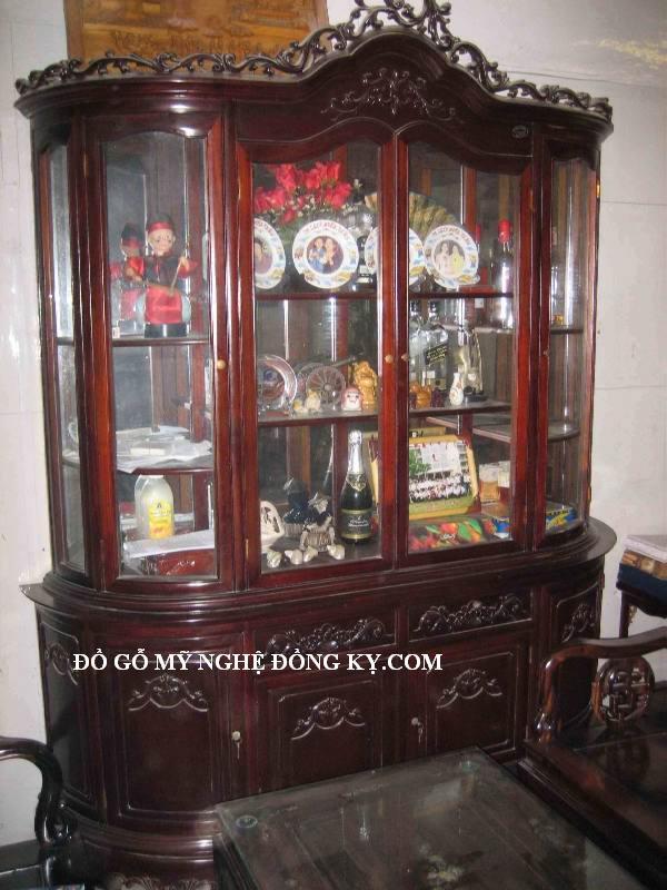 Tủ rượu gỗ đồng kỵ