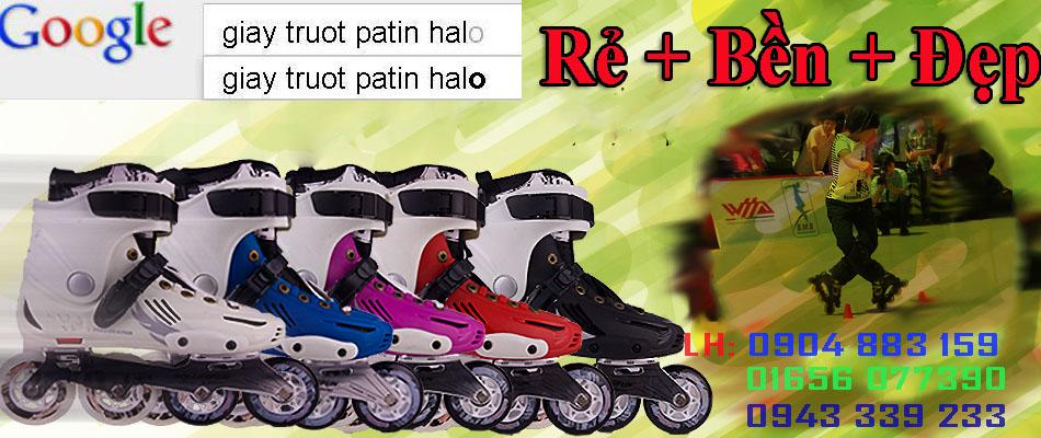 PaTin HaLo Shop Cung cấp giày patin cho Sân Trượt patin, cho Đại Lý, cho Nhóm Trượt giá rẻ, freeline