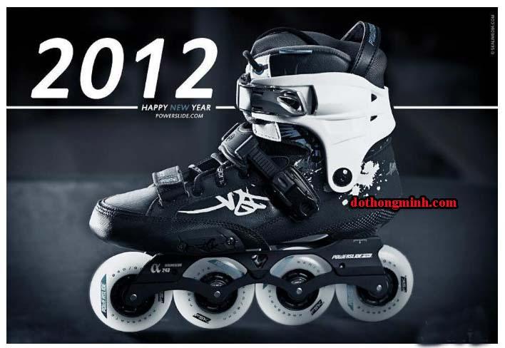 giày trượt patin Powerslide Hardcore Evo 2012