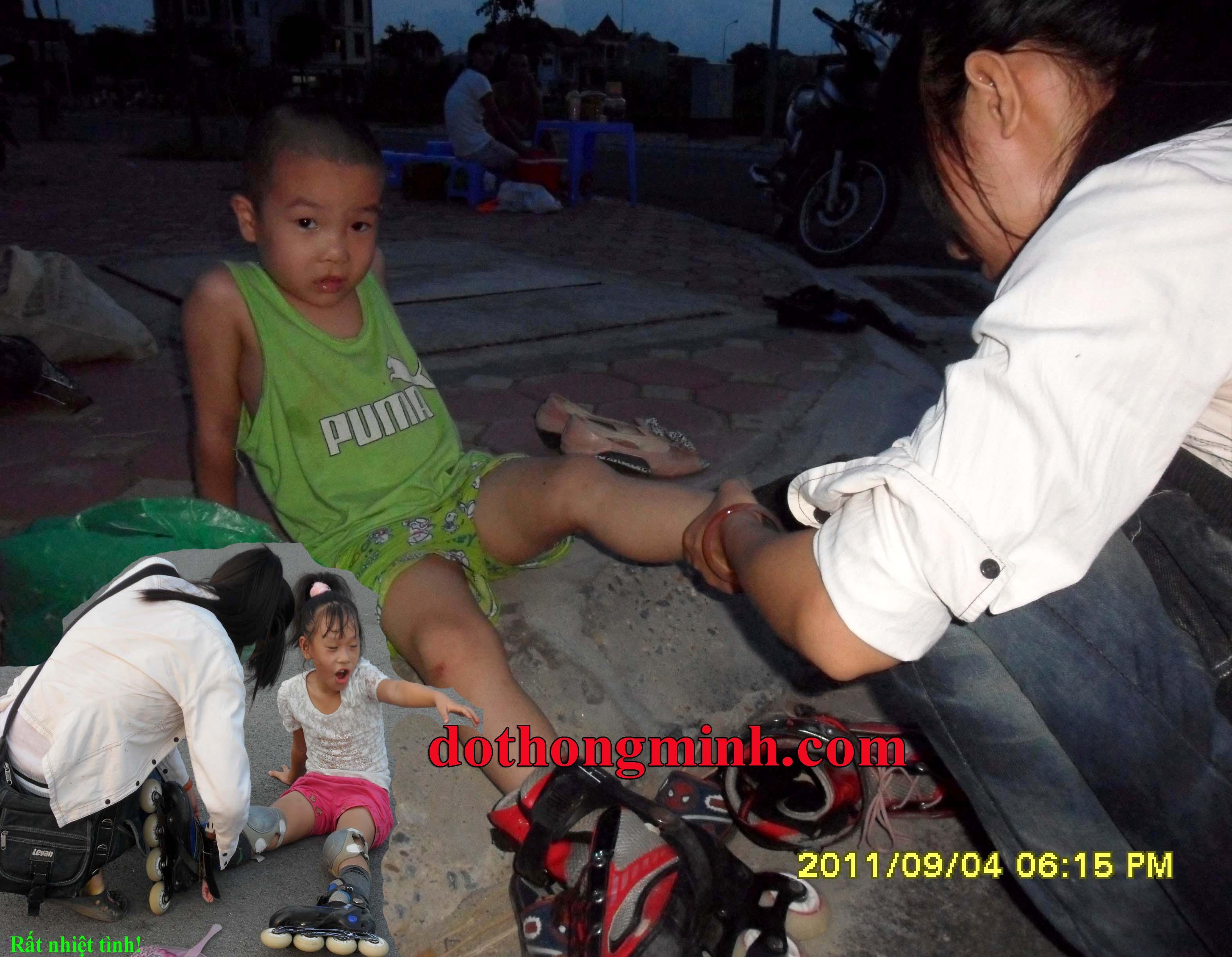Cho thuê giày patin lưu động PatinHalo P.1