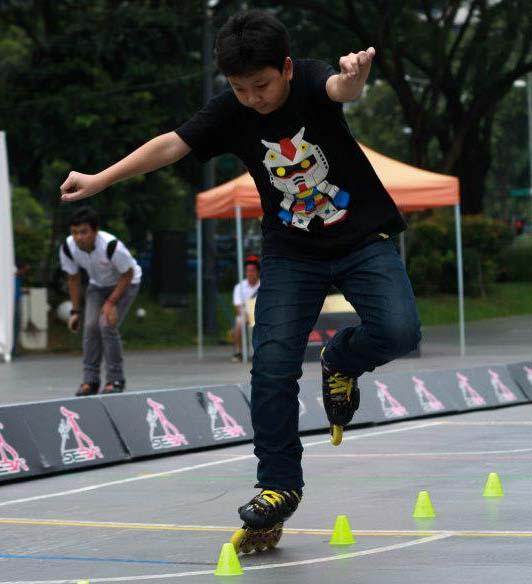 Triển khai sân trượt patin