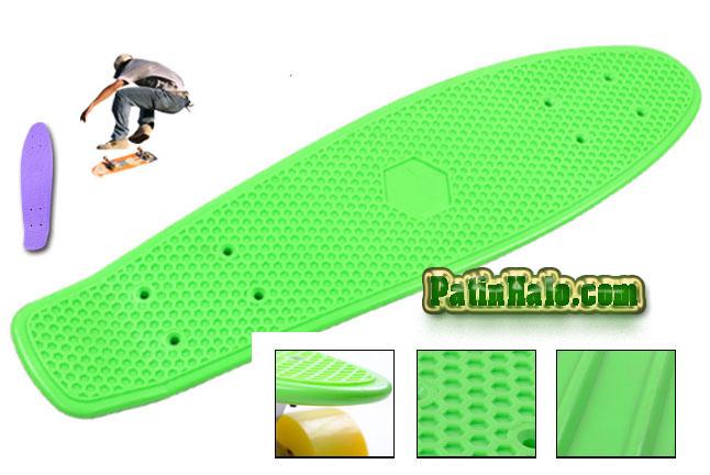 skateboard penny xanh