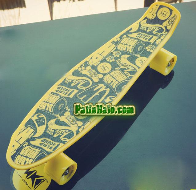 van truot skateboard peny
