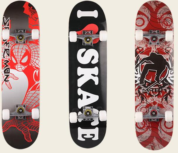 van truot skateboard