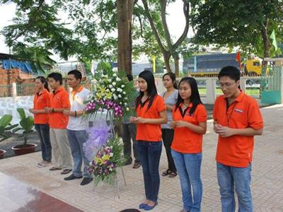 Sinh viên FPT tri ân các anh hùng liệt sĩ