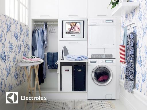 6 lý do bạn nên sử dụng máy giặt Electrolux