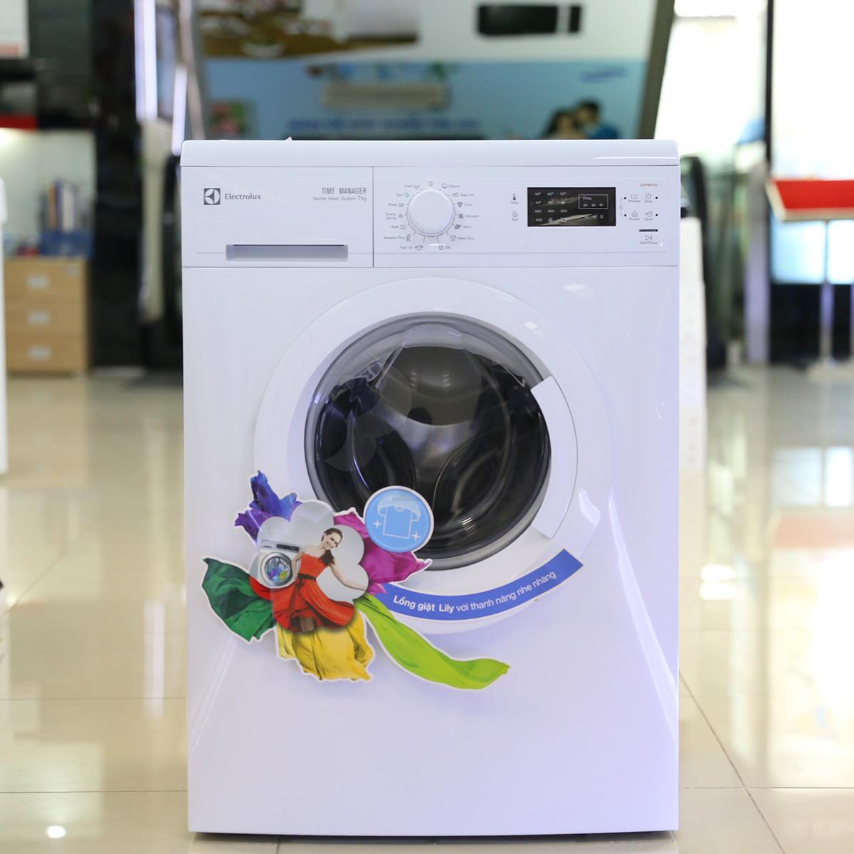 Cách test lỗi máy giặt Electrolux EWP85752