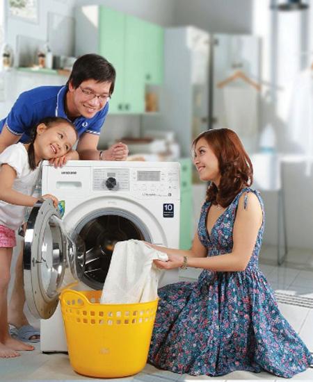Hiện tượng máy giặt Electrolux bị giật?