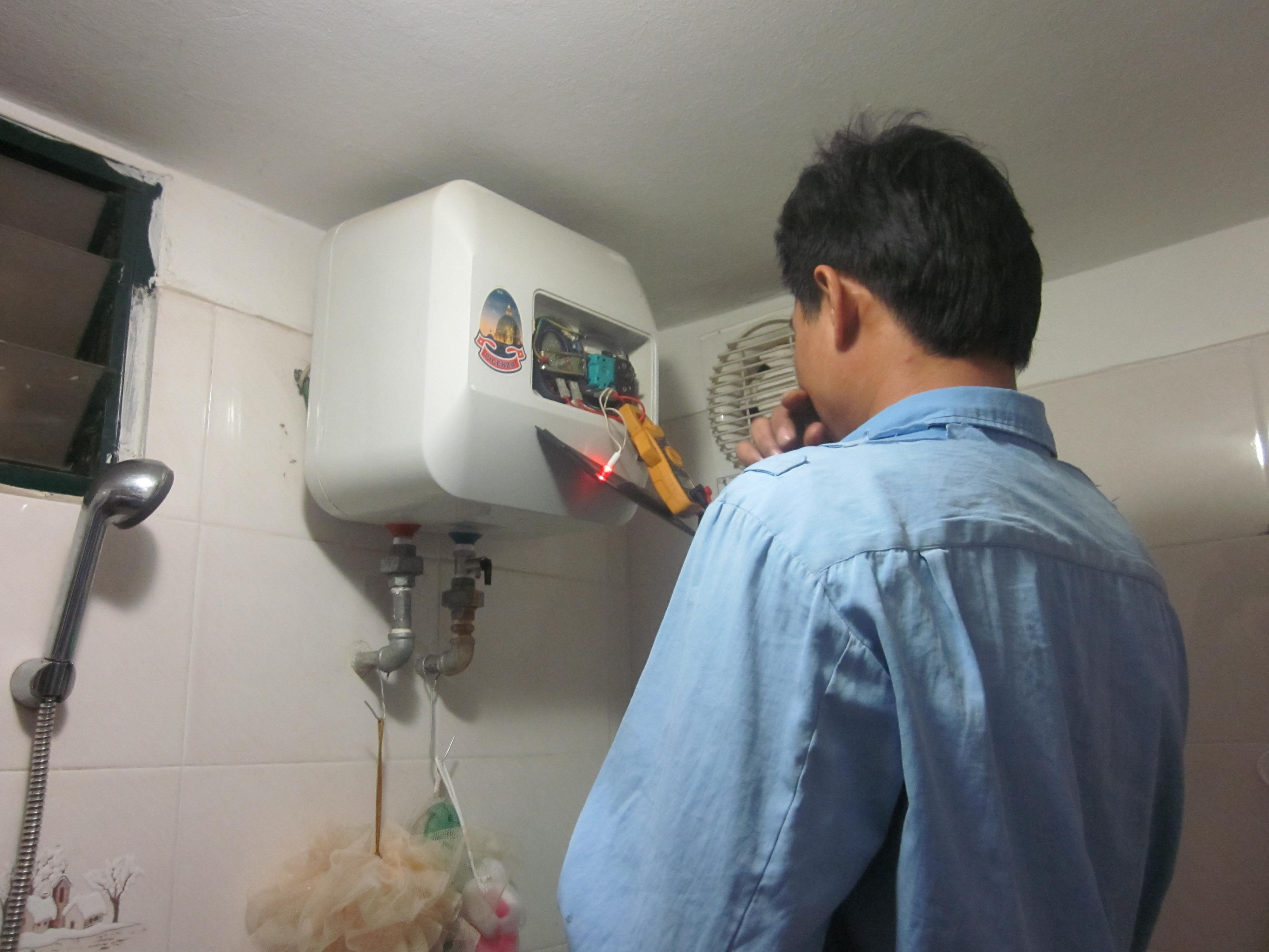 Dịch vụ sửa chữa bình nóng lạnh tại nhà