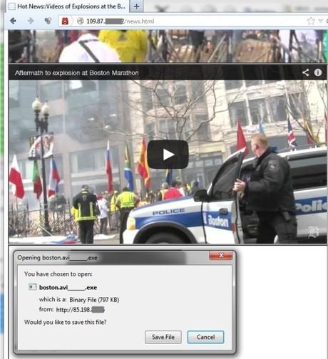 Kaspersky Lab cảnh báo cuộc tấn công mới ẩn sau sự kiện đánh bom ở Boston