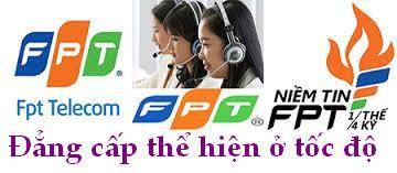 FPT Telecom nâng băng thông Internet lên mức cao nhất