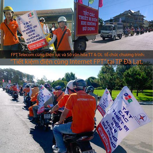 FPT Lâm Đồng hợp tác cùng Điện Lực hợp tác thực hiện An Toàn Tiết Kiệm Điện