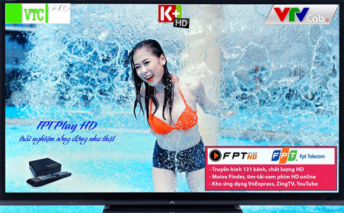 OneTV bổ sung nhóm kênh K+HD và K+PC SD