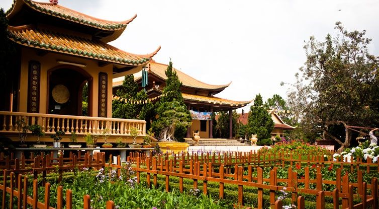 Image result for Truc Lam Pagoda