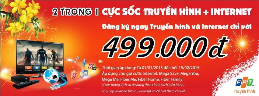 FPT Lâm Đồng khuyến mãi tháng 1/2015 cực sốc