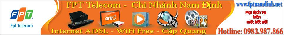 Lắp mạng FPT tại Nam Định-->Hotline: 0983.987.866