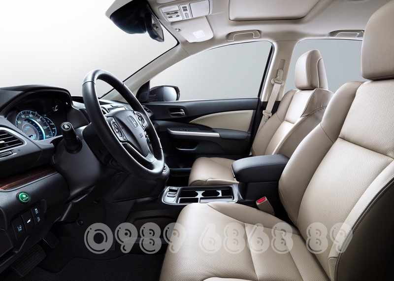 Hàng ghế phía trước Honda CR-V 2015