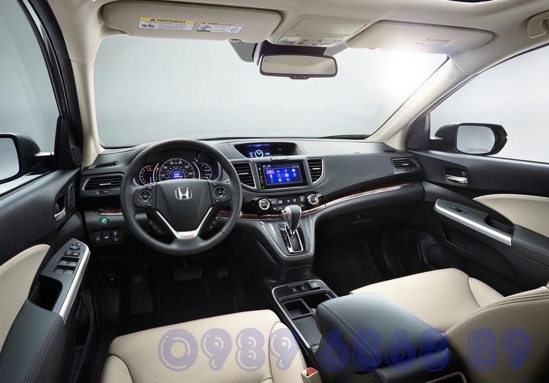 Nội thất Honda CR-V 2015