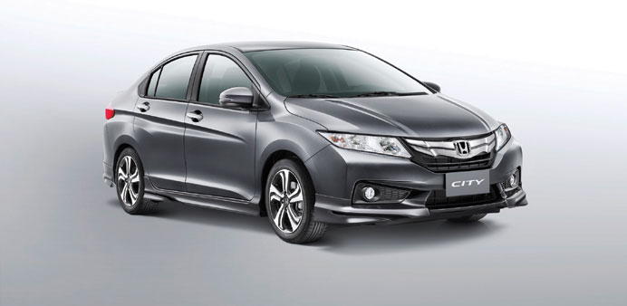 Honda City 2015 da co mat tai Qatar