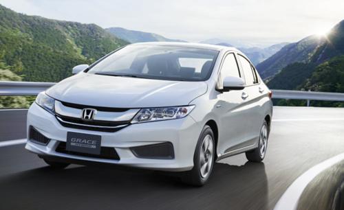 Honda City 2015 xuat hien phien ban Hybrid Grace