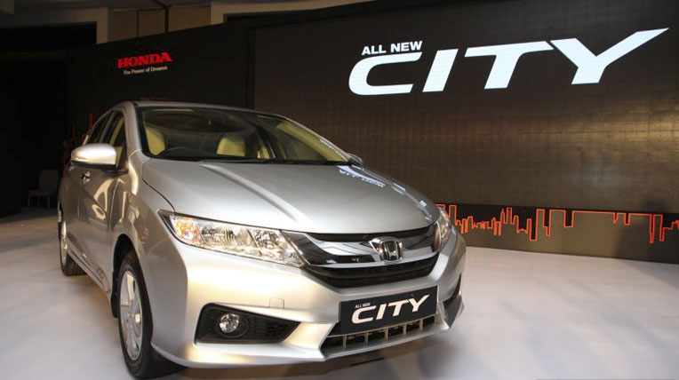Honda city 2015 the he moi la nam cham hut khach tai Viet Nam