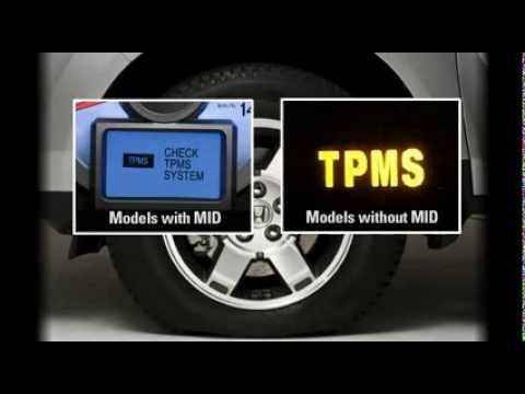 Den TPMS sang tren Honda CRV la loi gi