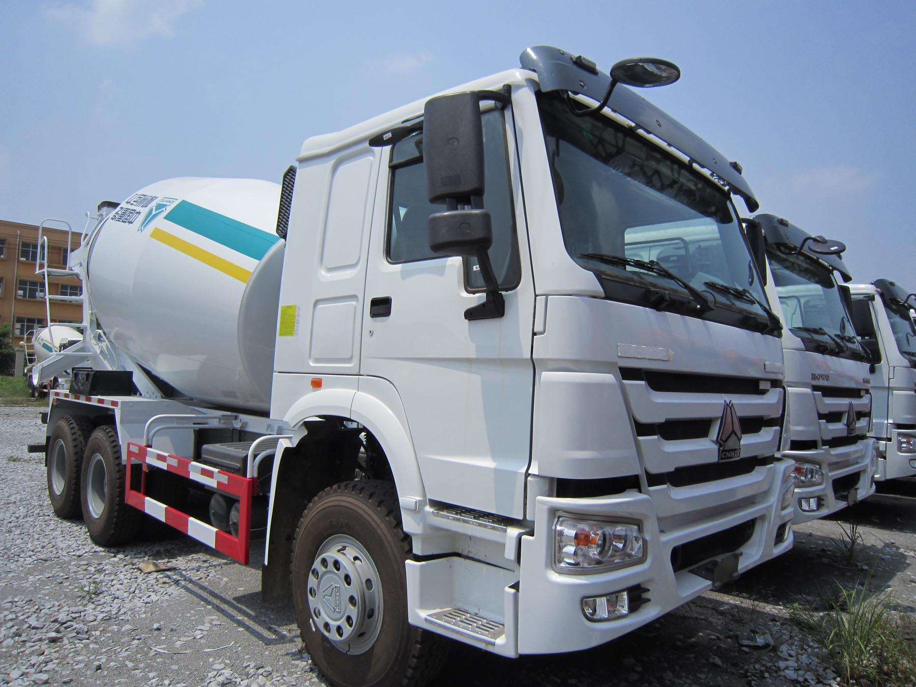 xe Trộn Howo (Model: ZZ5257GJBN3241
