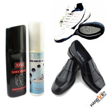 Bán buôn bán lẻ các loại xi đánh giày, chất làm sạch túi xách, áo da... Cần tìm Đại lý các tỉnh