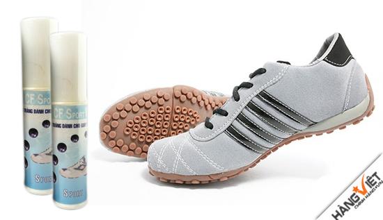 Xi trắng dành cho giày thể thao và giày vải – CF SPORT WHITE