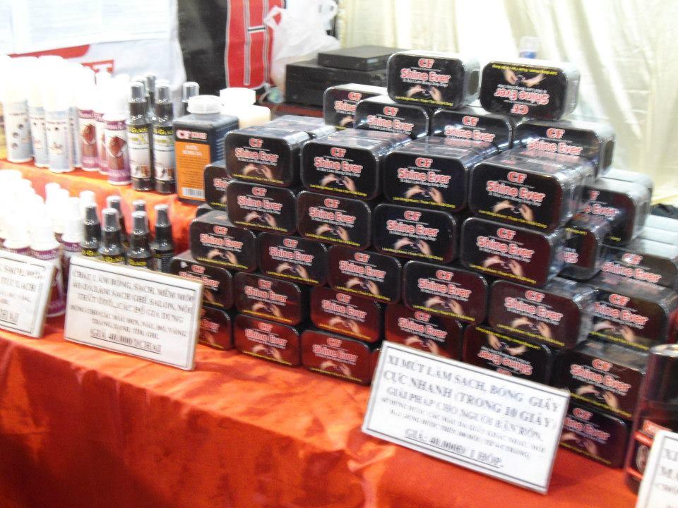 Hình ảnh Xidanhgiay.com tại các chương trình hội chợ - triển lãm