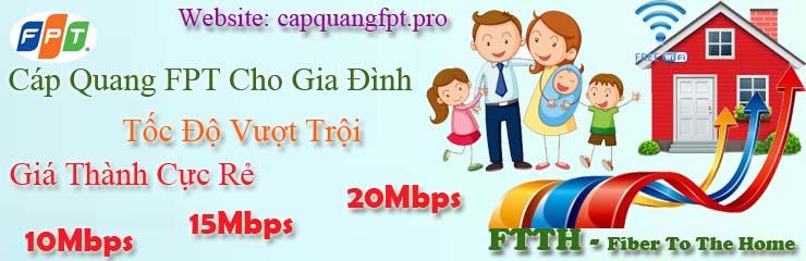 lắp đặt wifi fpt cho gia đình