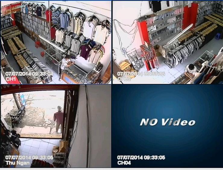 hệ thông camera quan sát cho cửa hàng