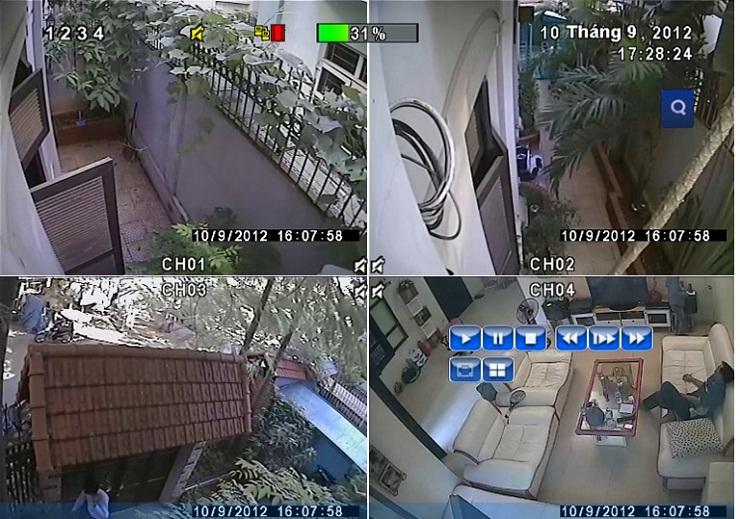 hệ thống camera quan sát cho gia đình
