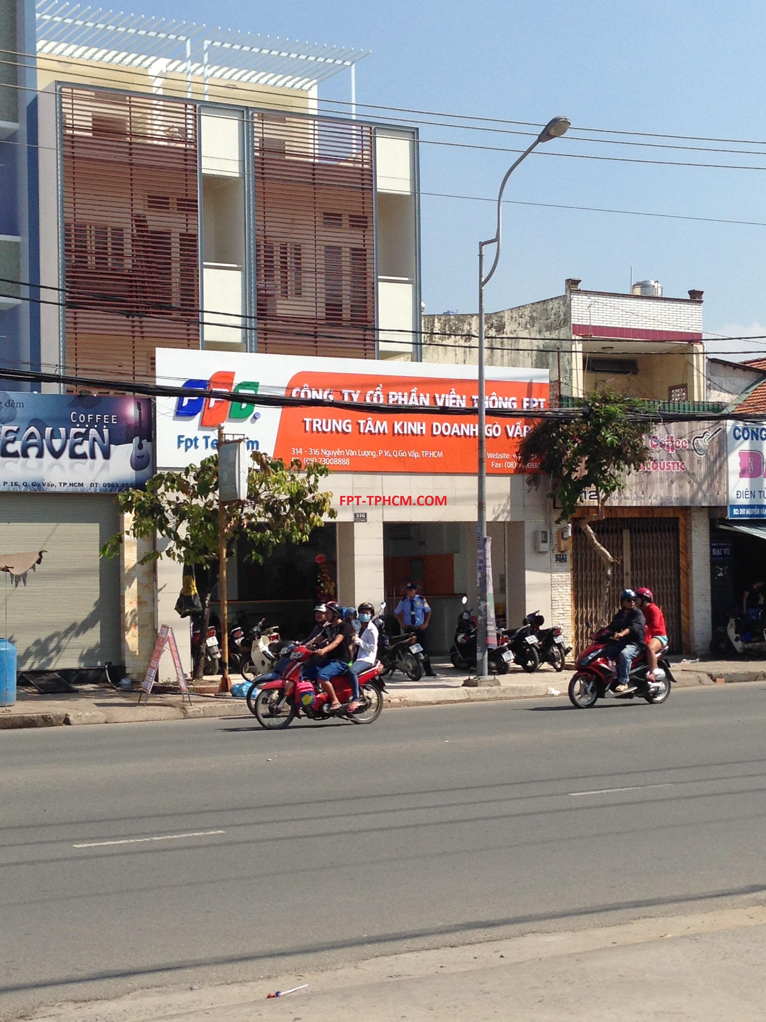 Địa chỉ mới công ty FPT tại Gò Vấp.