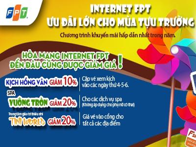 FPT Telecom ưu đãi lớn mùa tựu trường