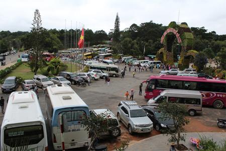 Đà Lạt tấp nập khách du lịch trong dịp nghỉ lễ 2-9