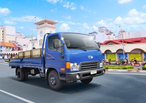 Ưu đãi lớn khi mua xe THACO Hyundai tải HD65