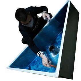 bể cá composite được làm từ nhựa composite