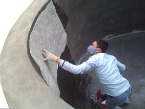 bọc phủ composite FRP | Bọc phủ phủ composite FRP cho bồn bể bê tông