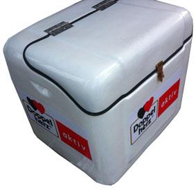 thùng chở hàng composite được làm từ nhựa composite sợi cốt thủy tinh nên có độ bền và tuổi thọ cao hơn các loại nhựa thông thường