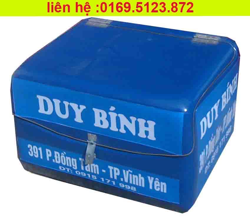 thùng chở hàng composite kiều gia