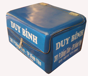 thùng chở hàng sau xe máy giá rẻ
