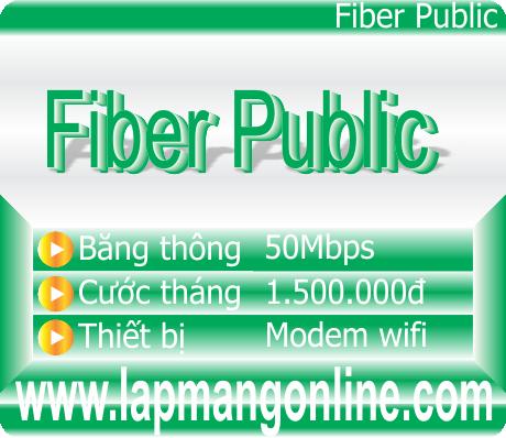 LẮP ĐẶT CÁP QUANG FPT-GÓI FiberPulic ->>Liên hệ : 0988.212.432
