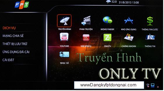 Truyền hình only TV FPT