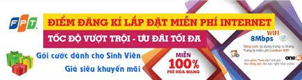Lắp Mạng Internet  FPT Dành Cho Sinh Viên