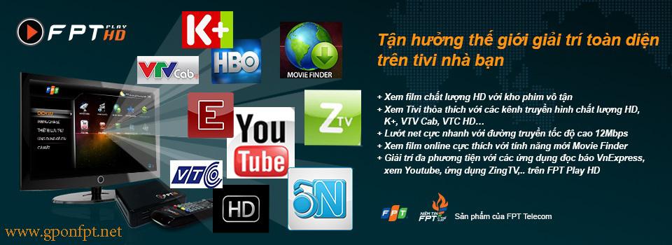 Lắp Truyền Hình FPT Play HD