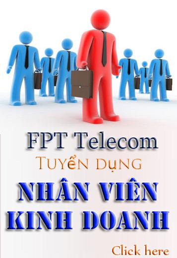 Tuyển Dụng Nhân viên kinh doanh FPT