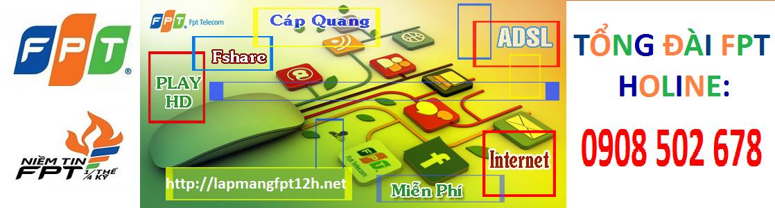Internet Wifi FPT Miễn Phí Lắp Đặt
