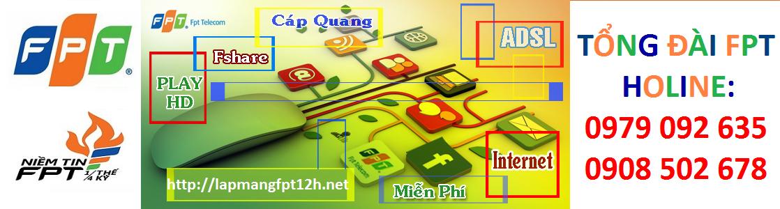 Đăng Ký Lắp Mạng internet FPT Cần Thơ